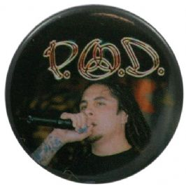 P.O.D. - 'Sonny Singing' Button Badge